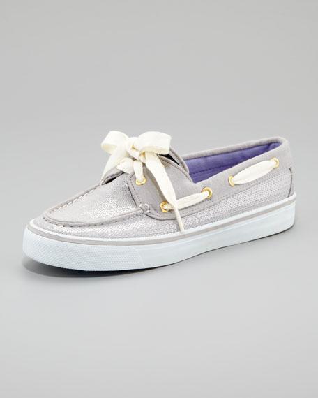 Bahama Sequins Slip-On Sneaker, Gray Jersey