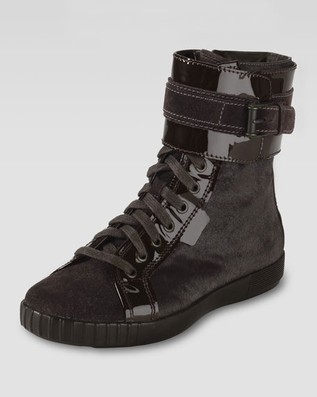 Air Tali City Buckled Ankle Boot
