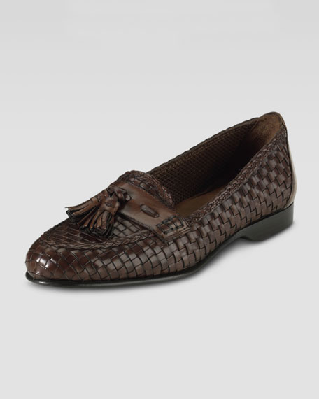 Megan Hand-Woven Slip-On, Luggage