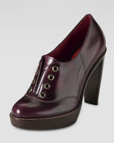 Stephanie Air Oxford Pump, Oxblood/Black