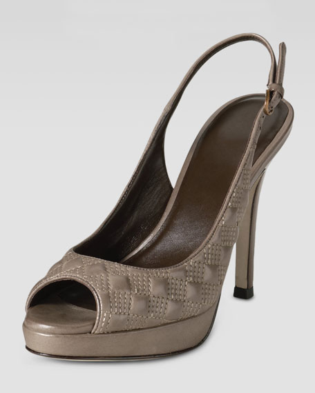 Stephanie Air Slingback, Greige
