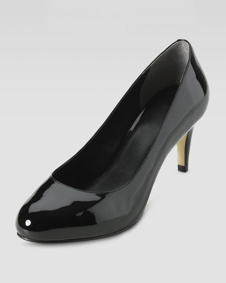 Violet Air Patent 60mm Pump, Black