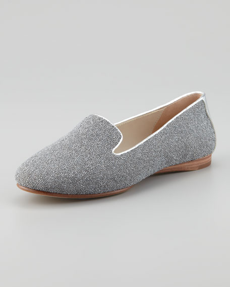 Denda Sparkle Loafer, Silver