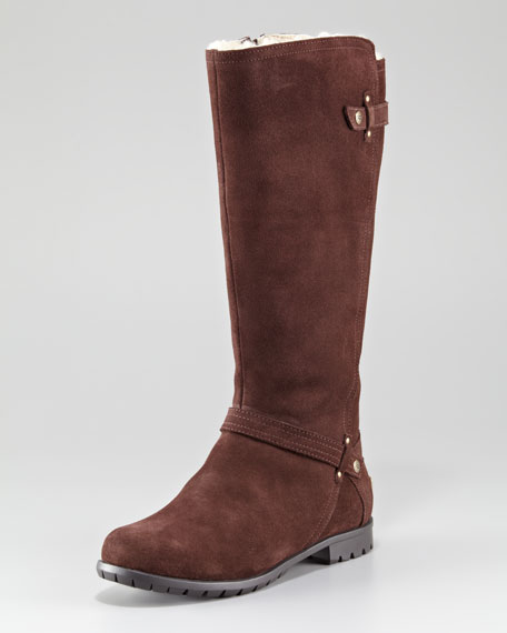 Jillian II Suede Flat Boot