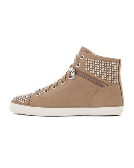 Studded Hi-Top Sneaker