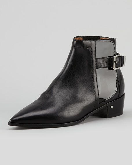 Ed Point-Toe Chelsea Ankle Boot