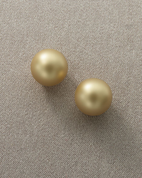Pearl Earrings, Pierced