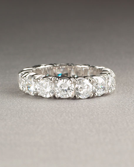 Cubic Zirconia Eternity Band