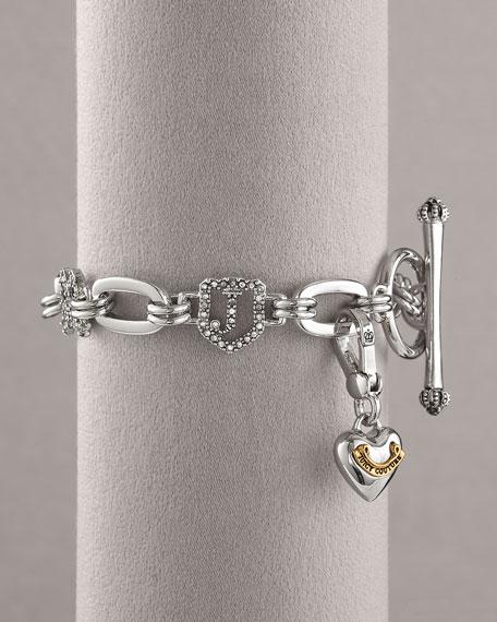 Luxe Starter Charm Bracelet, Silver