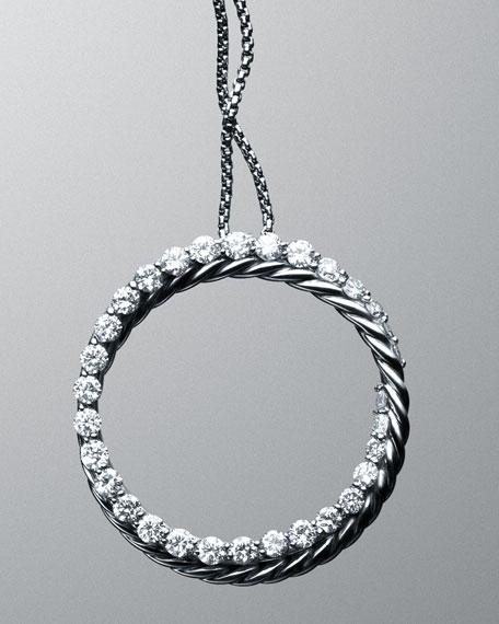 Cable Circle Pendant
