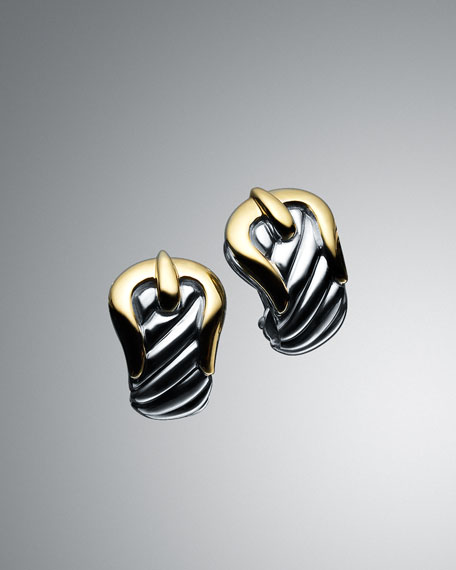Cable Buckle Earrings