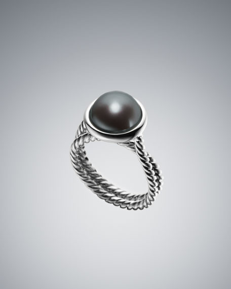 Pearl Cable Wrap Ring
