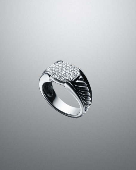Pave Diamond Waverly Ring