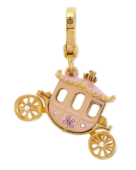 Pink Princess Carriage Charm