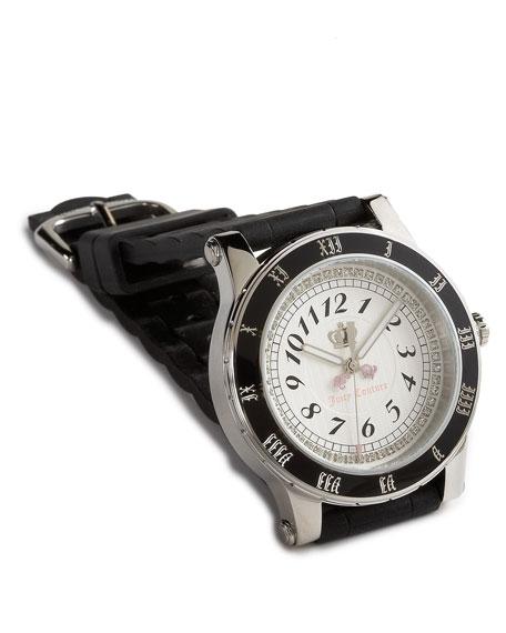 HRH Round Watch, Black