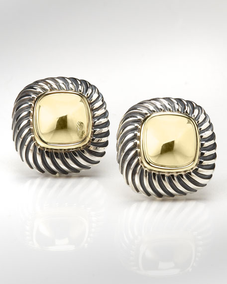 Cable Classics Square Earrings