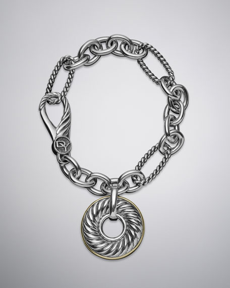 Cable Classics Charm Bracelet