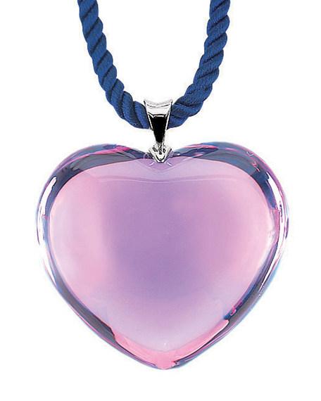 Glamour Heart Pendant, Parma Violet