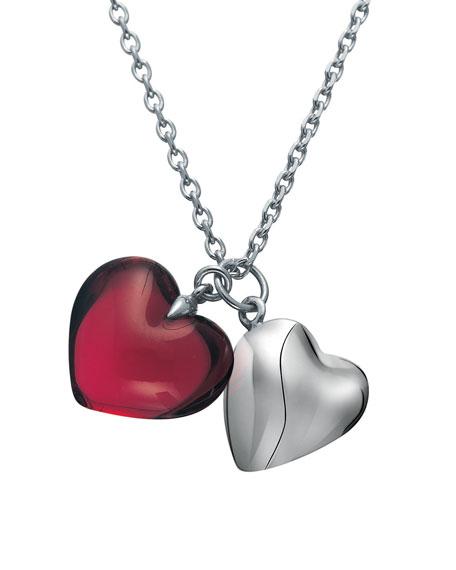 B Mine Necklace, Ruby