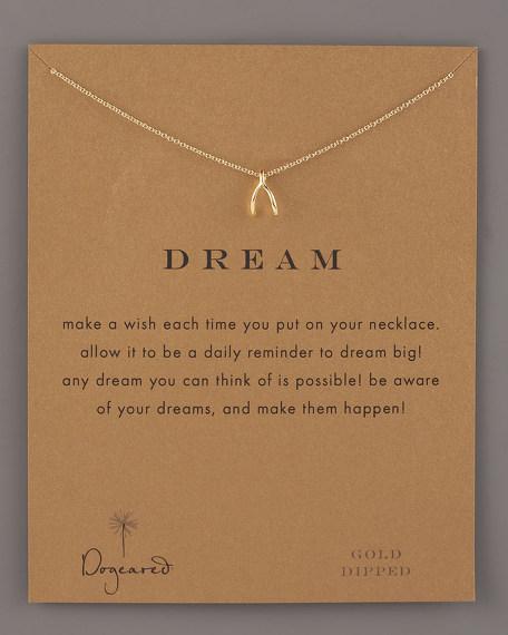 Wishbone Dream Necklace