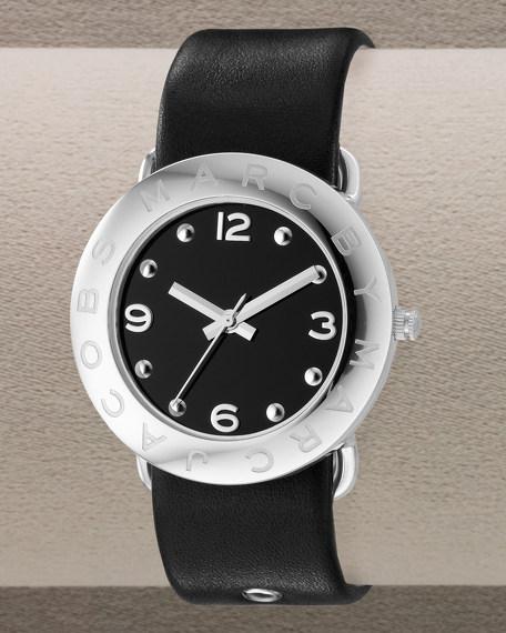 Round Watch, Black
