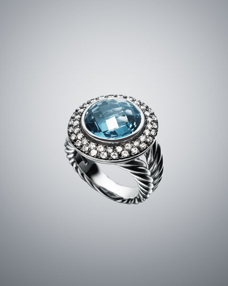 13mm Hampton Blue Moonlight Ice Ring