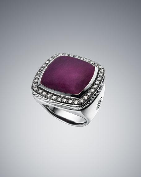 20mm Ruby Moonlight Ice Ring