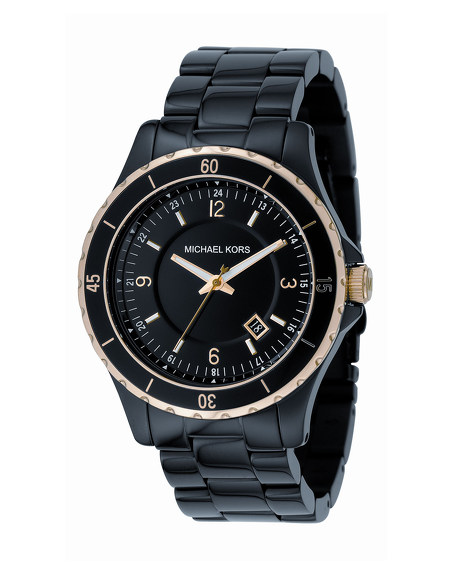 Black Watch with Gold Accents