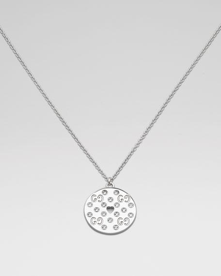 Icon Amor Diamond Pendant Necklace