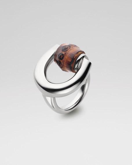 Horsebit and Bamboo Ring