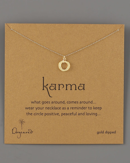 Karma Circle Necklace