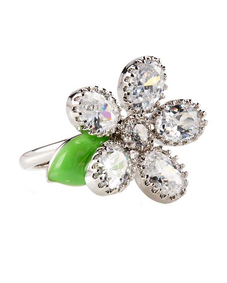 Adjustable Daisy Ring