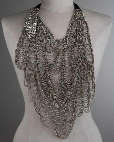 Web Butterfly Necklace