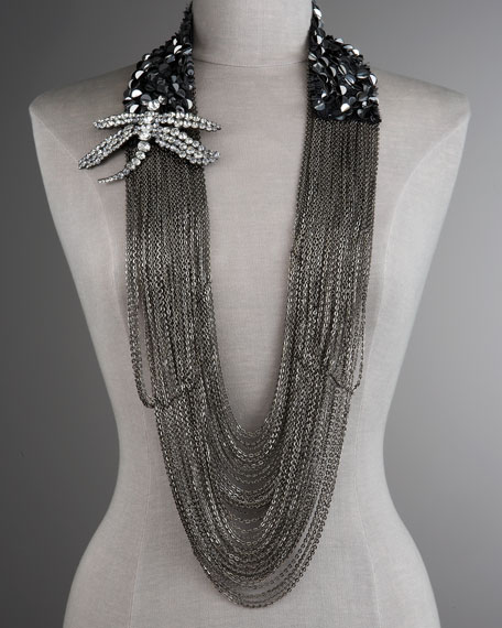 Dragonfly Chain Necklace