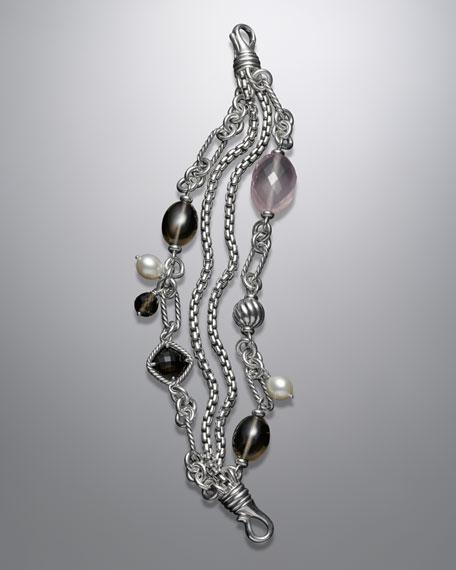 Rose Quartz Bijoux Bracelet