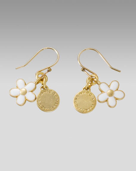 Daisy Logo Earrings, Small