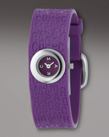 Frazier Cuff Watch, Purple