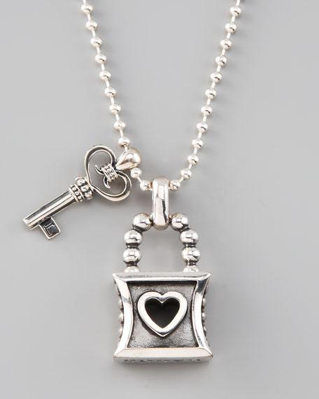 Signature Key & Lock Necklace
