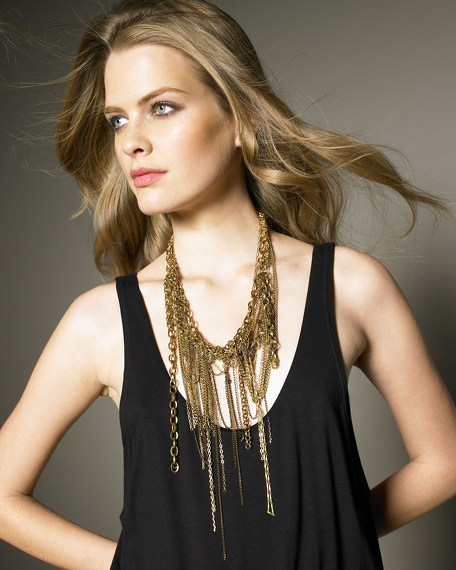 Hanging Chain Necklace
