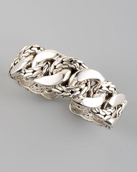 Classic Chain Kick Cuff Bracelet