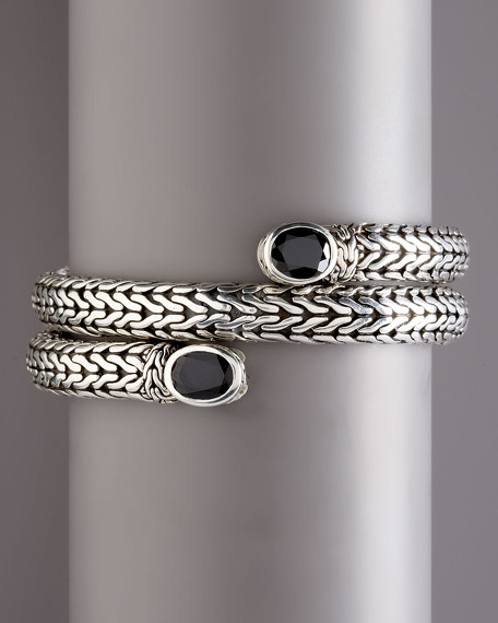Classic Chain Batu Coil Bracelet
