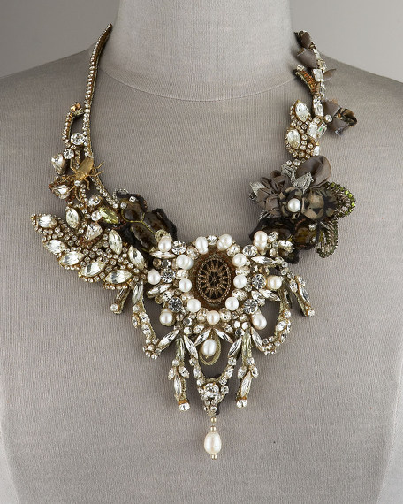 Large Crystal Fantasy Necklace