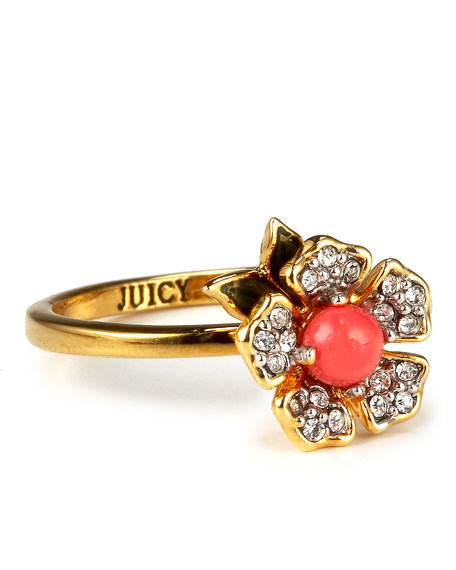 Flower Wish Ring, Size 6