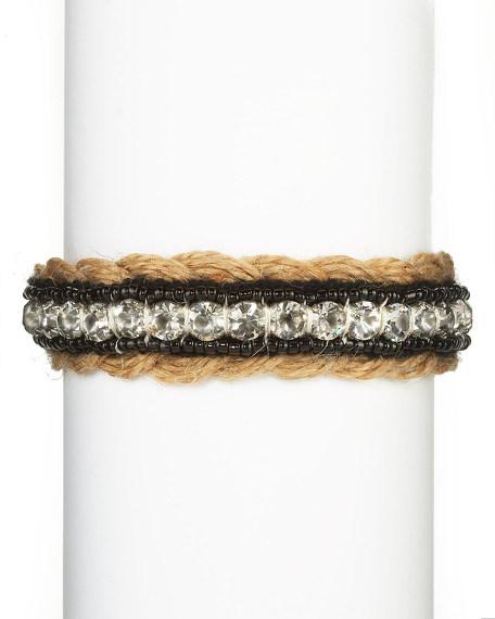 Rhinestone Bracelet, Black