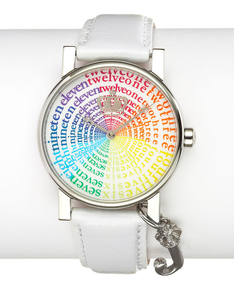 Happy Watch, White