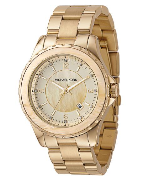 Horn-Bezel Watch
