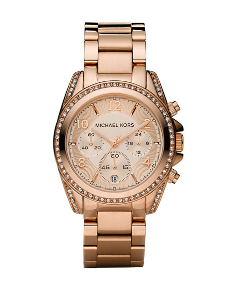 MICHAEL Michael Kors Glitz Chronograph Watch