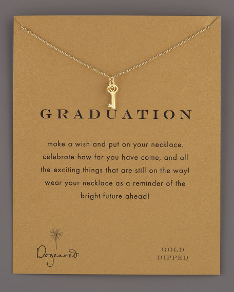 Graduation Key Necklace