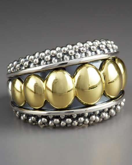 Caviar Large-Bead Ring