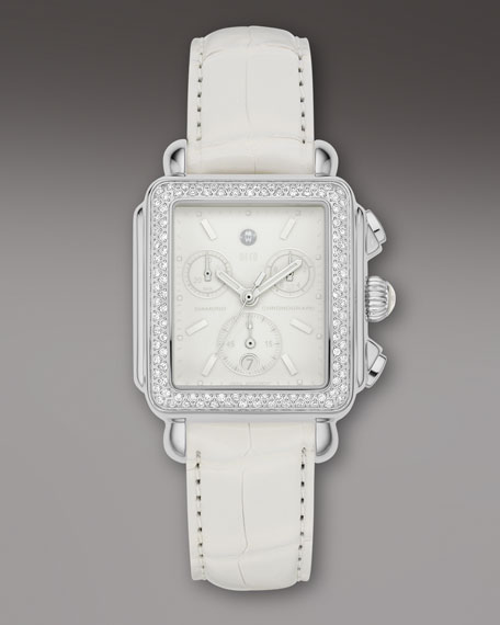 Deco Diamond Blanc Watch